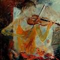 Violinist 67 by Pol Ledent