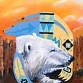 White Bear Goes Southwest by J W Baker