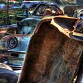 Wrecking Yard Study 8 by Lee Santa