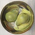 Yin Yang Pears by Sherry Burnett