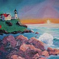 York Beach Maine by Suzanne  Marie Leclair