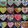 16 Hearts by Gila Rayberg