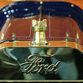 1911 Ford Model T Runabout Hood Ornament by Jill Reger