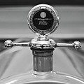 1913 White Gentlemans's Roadster Hood Ornament 2 by Jill Reger