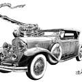 1929 Cadillac  by Peter Piatt
