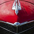 1933 Oldsmobile Hood Ornament by Jill Reger