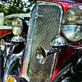 1934 Chevrolet Head Lights by Paul Ward