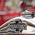 1936 American Lafrance Fire Truck Hood Ornament by Jill Reger