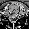 1950 Oldsmobile Rocket 88 Steering Wheel 4 by Jill Reger