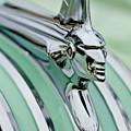 1951 Pontiac Streamliner Hood Ornament 3 by Jill Reger