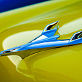 1956 Chevrolet Hood Ornament by Jill Reger