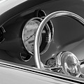 1956 Chrysler Hot Rod Steering Wheel by Jill Reger