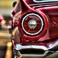 1957 Ford Thunderbird Red Convertible by Gordon Dean II