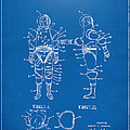1968 Hard Space Suit Patent Artwork - Blueprint by Nikki Marie Smith