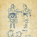 1968 Hard Space Suit Patent Artwork - Vintage by Nikki Marie Smith