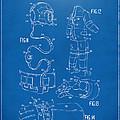 1973 Space Suit Elements Patent Artwork - Blueprint by Nikki Marie Smith