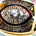 1982 Redskins Super Bowl Ring by Paul Van Scott