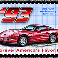 1993 40th Anniversary Edition Corvette by K Scott Teeters