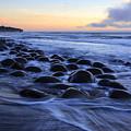Bowling Ball Beach by Bob Christopher