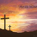 He Is Risen by Marna Edwards Flavell