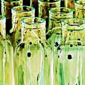 Iridescent Bottle Parade by Heiko Koehrer-Wagner