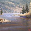 Kootenai River by Dalas  Klein