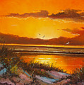 Siesta Sunset by Charles Yates