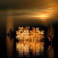 Twilight On The Bayou by Richard Ortolano