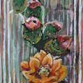 Yellow Cactus Blossom by Aleksandra Buha