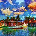 Fishing Boats by Galeria Trompiz