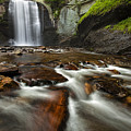 Looking Glass Falls by Andrew Soundarajan
