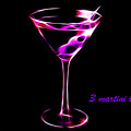 3 Martini Lunch by Wingsdomain Art and Photography
