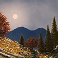 Mountain Moonrise by Frank Wilson