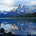 Patagonia Reflection by Michele Burgess