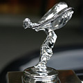 Rolls Royce Hood Ornament by Carl Purcell