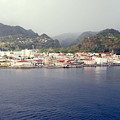 Roseau Dominica by Gary Wonning