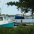 3 Shrimp Boat At Billys by Michael Thomas