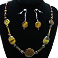 3510 Tiger Eye Set by Teresa Mucha