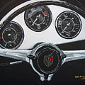 356 Porsche Dash by Richard Le Page