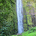400 Foot Waimoku Falls Maui by Pierre Leclerc Photography