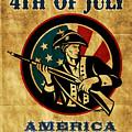 American Revolution Soldier General  by Aloysius Patrimonio