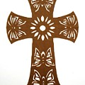 Brown Butterfly-cross by Tong Steinle