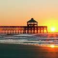 Folly Beach Pier Sunrise by Dustin K Ryan
