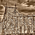 59 Street Bridge Before Sunset by Val Black Russian Tourchin