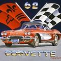 62 Vette by Howard Dubois