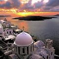 Santorini  by Manolis Tsantakis