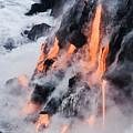 Pahoehoe Lava Flow by Ron Dahlquist - Printscapes