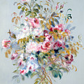 A Bouquet Of Roses by Pierre Auguste Renoir