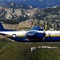 A C-130 Hercules Fat Albert Plane Flies by Stocktrek Images