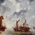 A Calm by Jan van de Capelle